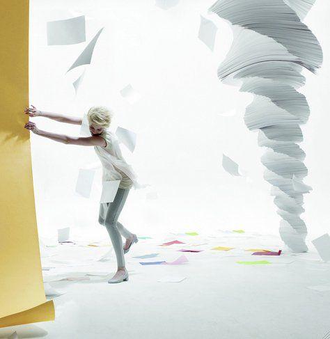 tornado paper sculpture more paper cut art sculpture paper art art ...