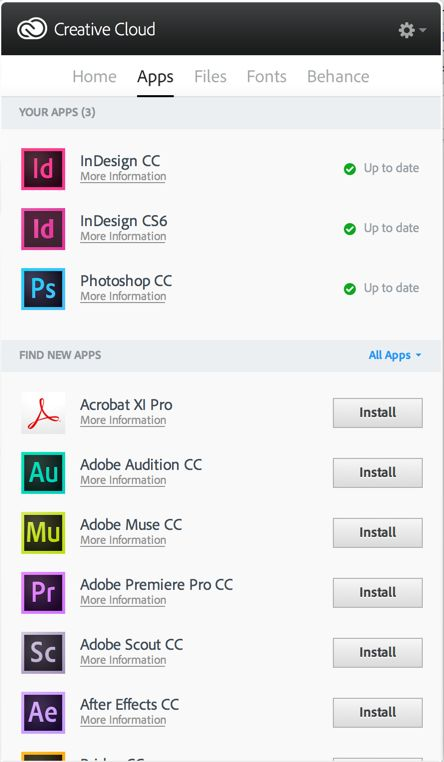 adobe cc log in