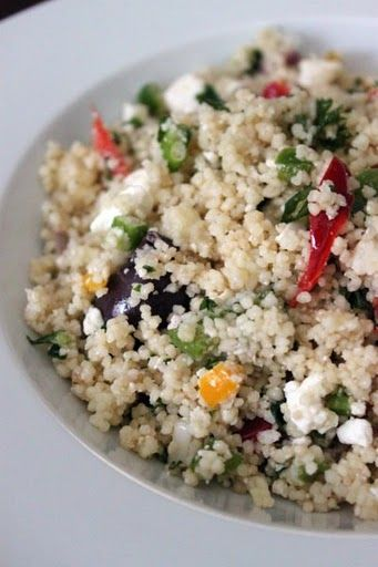 Mediterranean Couscous Salad | Stuff to Try | Pinterest