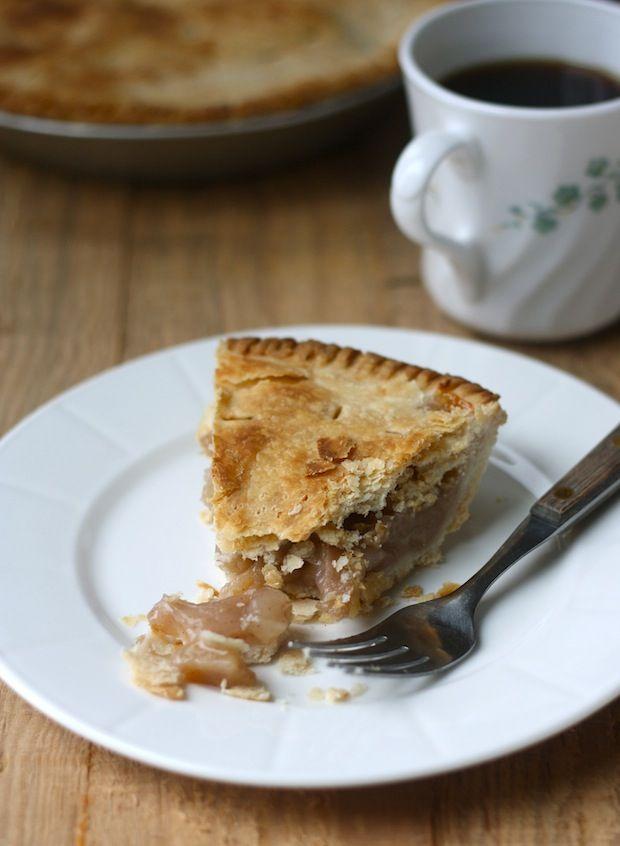 Rustic apple pie by SeasonWithSpice.com | Cinnamon | Pinterest