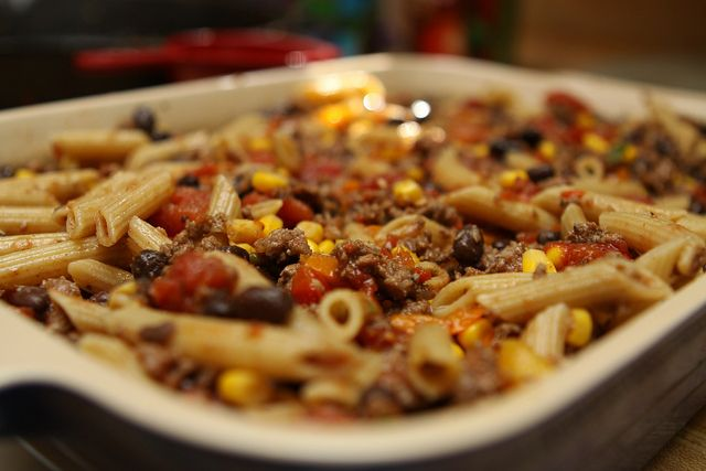 Delicious Mexican Pasta Bake » A Southern Fairytale
