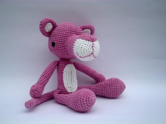 Amigurumi Free Pattern Pink Panther : pink panther Amigurumi Pinterest