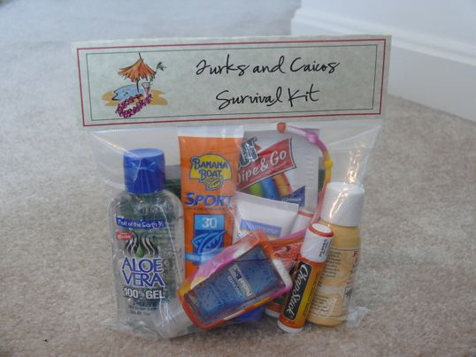 Beach Wedding Guest Gift Bag Ideas : Wedding Guest gifts #favors #wedding Beach Wedding Pinterest