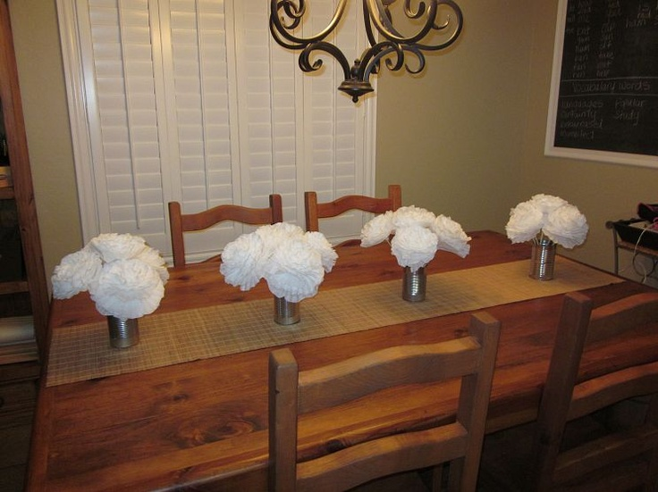 I made these flowers for a friends wedding. Made from coffee filters. Teri Boyungs at Hometalk.com