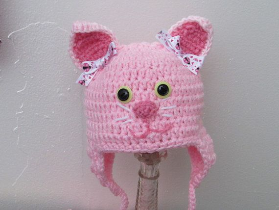 valentine kitty hat
