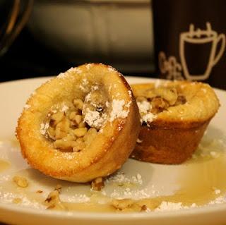 Banana Peanut Butter popovers | Recipes | Pinterest