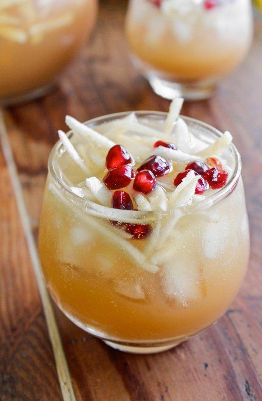 Pitcher Cocktail Recipe: Sparkling Apple Cider Sangria — The 10 ...