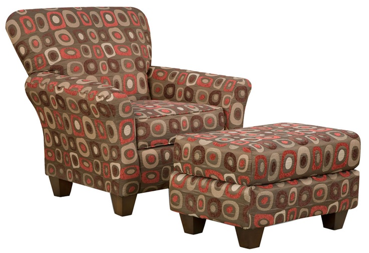 Best Red Brown Accent Chair And Ottoman Inspiration Red 640 x 480