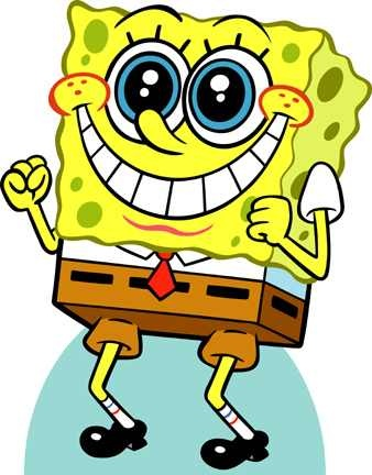 spongebob makes me smile:)