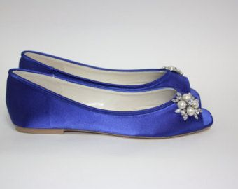 blue flat wedding shoes google search wedding 6 28 14 pinterest