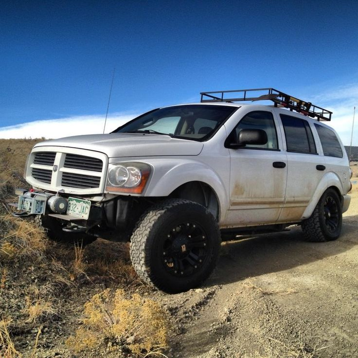 Off Road 2nd Gen Dodge Durango Take Me There Pinterest