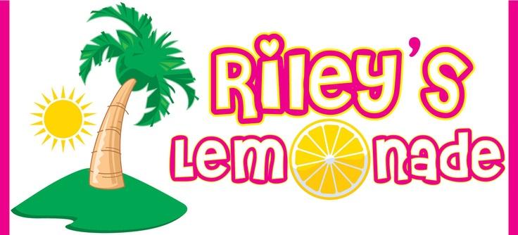Sign for Ri's Lemonade Stand:)