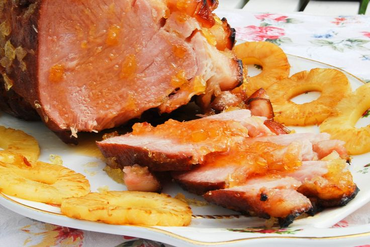 cola pineapple glazed easter ham glaze keep doing this until the ham ...