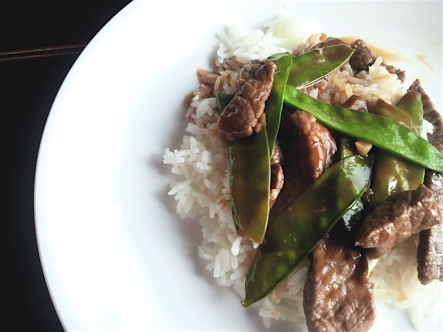 Asian Beef with Snow Peas | Beef, Pork, Sausage, Bacon Recipes | Pint ...