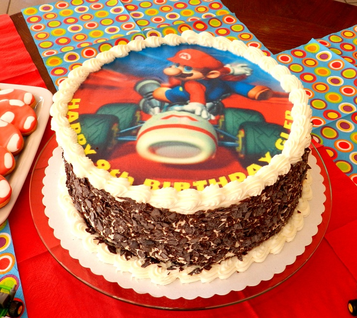 Simple Mario Cake Ideas 23273 Simple Idea For A Super Mari