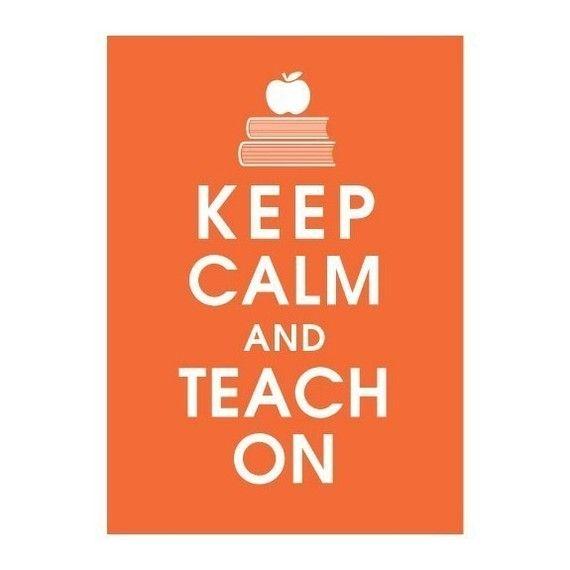 teach on...