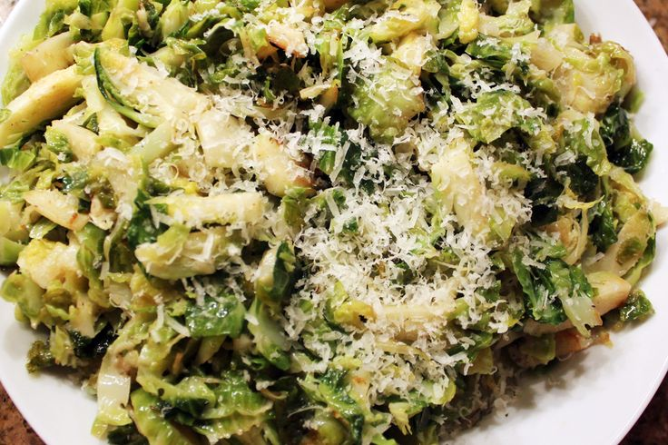 Brown butter-sauteed brussels sprouts | Thanksgiving | Pinterest