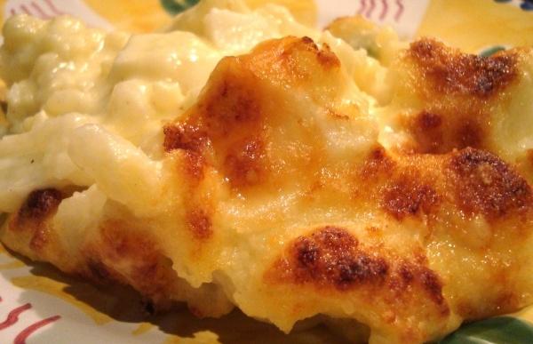 Cauliflower & Fennel Gratin | Sides | Pinterest