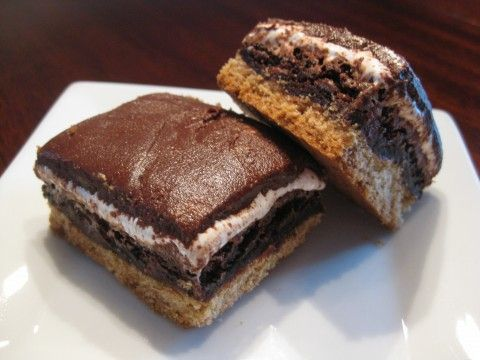 mores Brownies | Chocolate lovers recipe | Pinterest