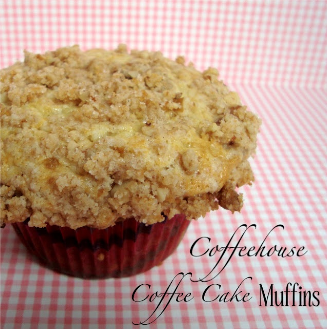 Coffeehouse Coffee Cake Muffins