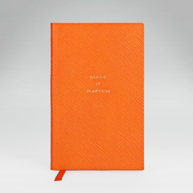 'Make it Happen' Notebook - Smythson. [I absolutely must have this before I graduate.]
