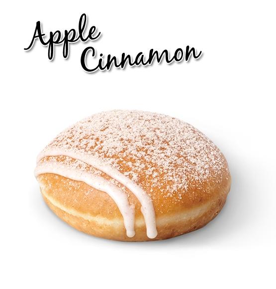 Apple Cinnamon | dounuts | Pinterest