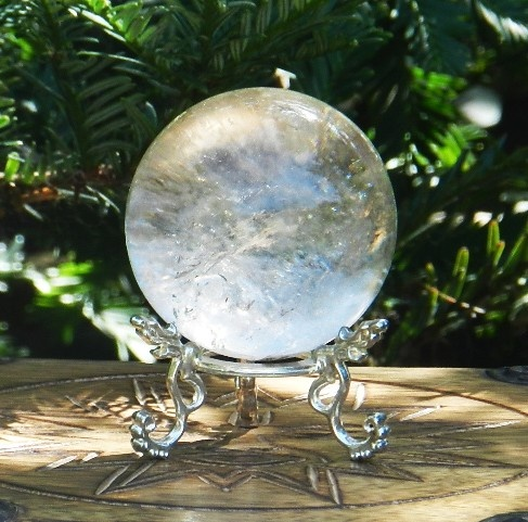 White magick crystals crystal ball ultimate power stone