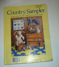 Country Sampler Jan Mar 1989 Country Decorating Ideas