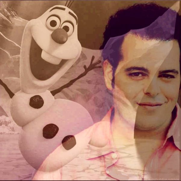 Josh Gad as Olaf - Frozen he s perfect for Olaf s voice Josh Gad Olaf