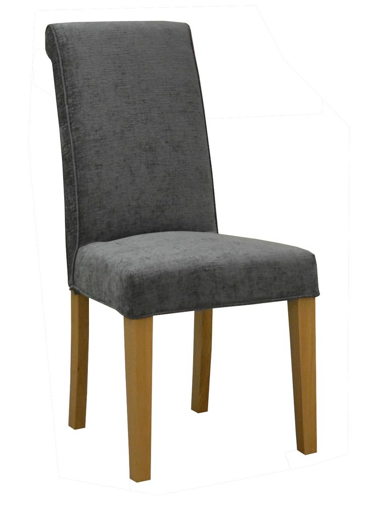 Re Upholster Dining Chairs In Grey
