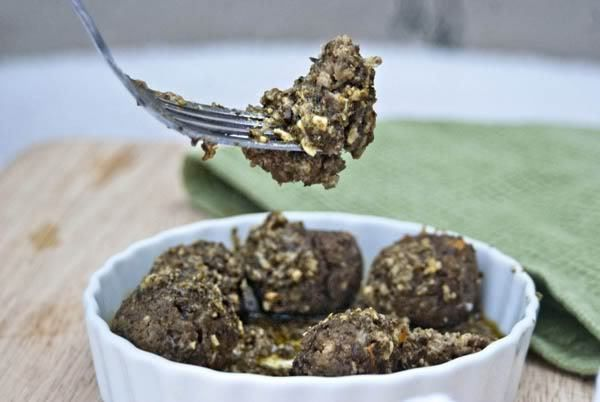 Sweetsonian: Lentil Meatballs with Lemon Pesto