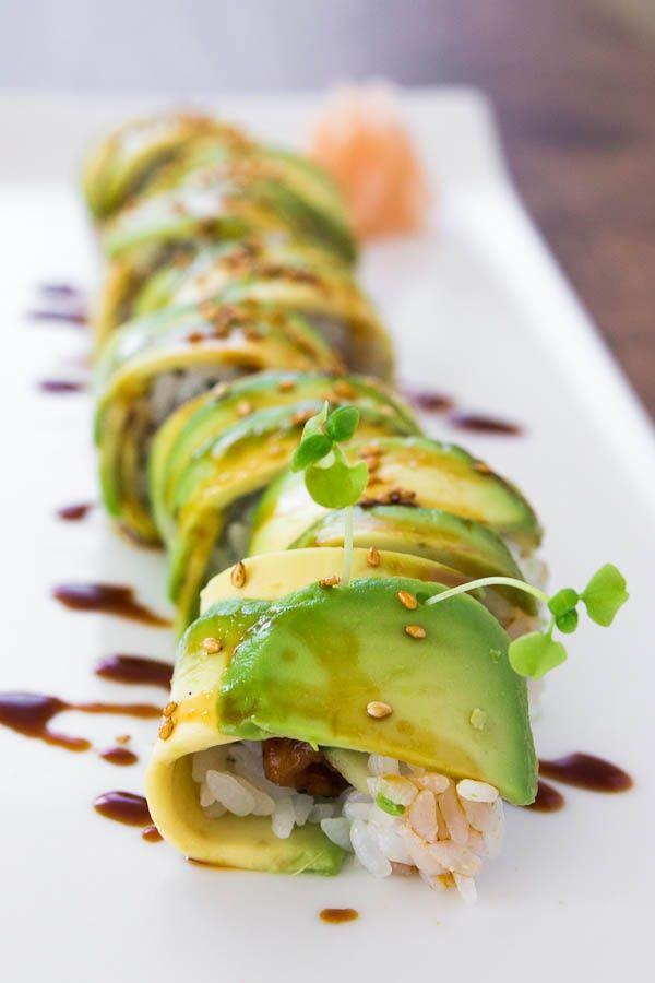 Caterpillar Roll | Asian Recipes | Pinterest