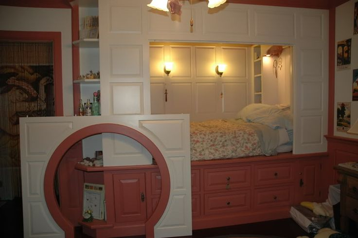 Dutch Alcove Bed Bedroomy Things Pinterest