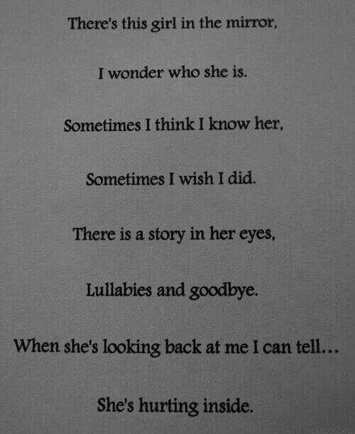 Hurting inside i am just saying pinterest