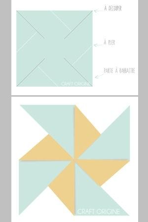 fabriquez un moulin à vent en papier.  Cards ideas  Pinterest