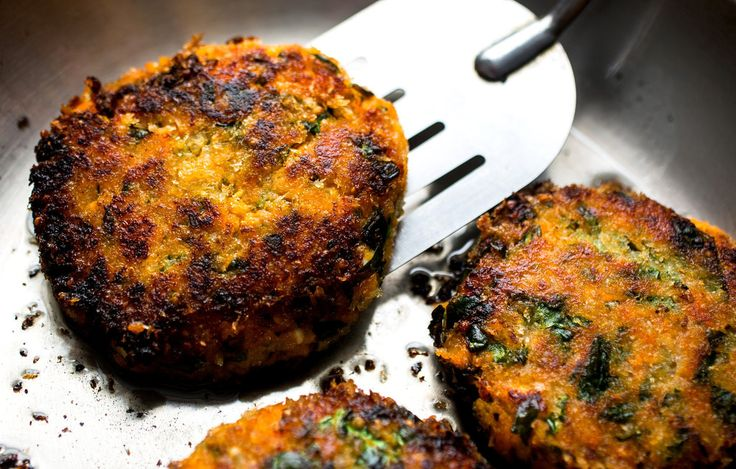 Sweet Potato, Quinoa, Spinach and Red Lentil Burger: View this and ...
