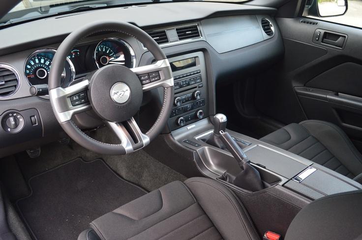 2014 Ford Mustang GT interior