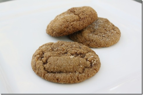Pumpkin Gingersnap Cookies | 4 little Ferguson's Food | Pinterest