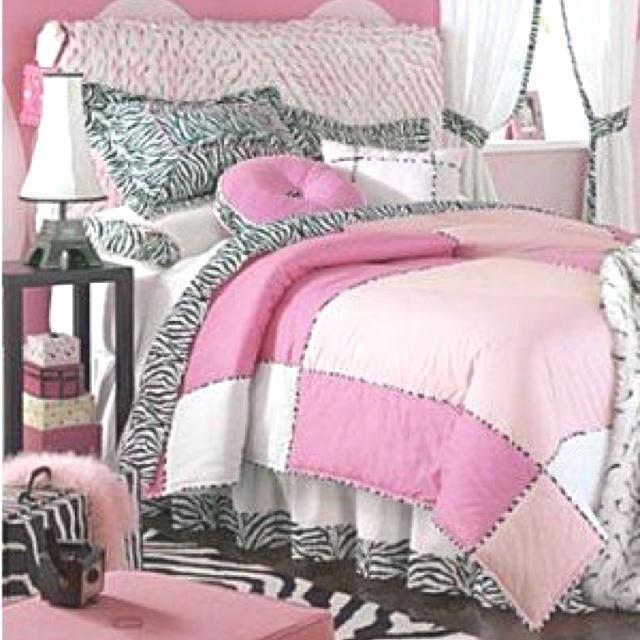 Light pink and black bedding light pink zebra bedding via joanna