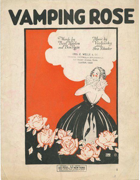 Vamping Rose by Confetta, via Flickr