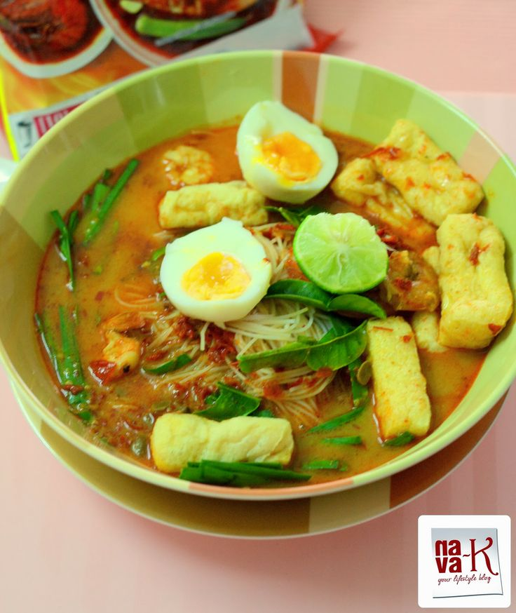 Mee Siam (Spicy Rice Vermicelli) This Asian soup noodles is sure to be ...