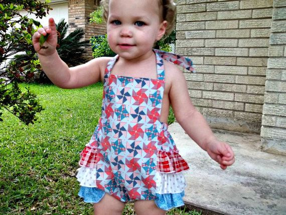 fourth of july baby girl