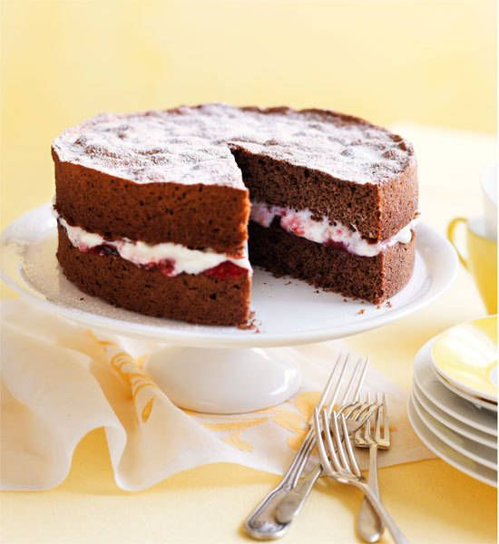 Chocolate sponge cake | Recipe