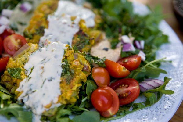 pan-fried falafel | edible goodness | Pinterest