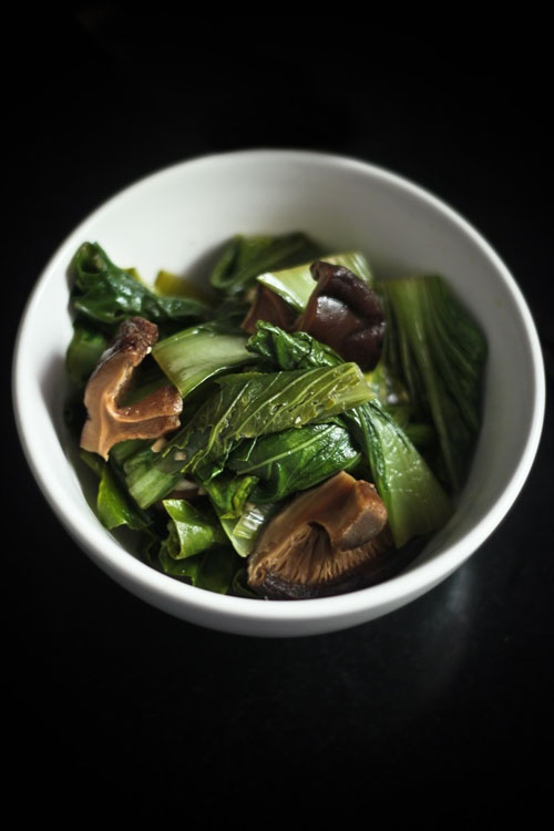 Baby Bok Choy With Shiitake Mushrooms Recipes — Dishmaps