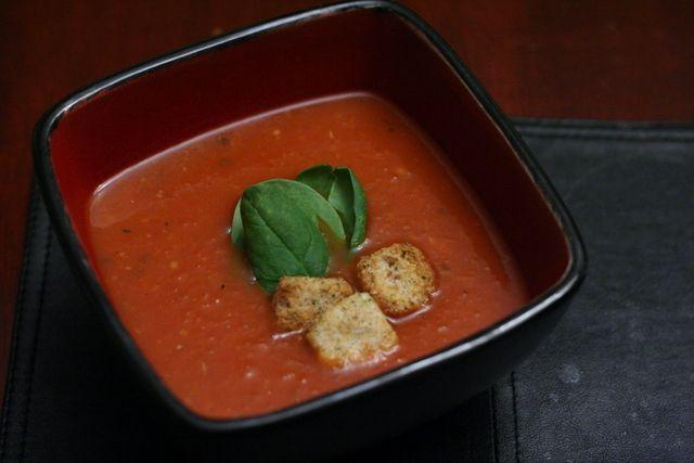 Sherried Tomato Soup | Vegan (or Easily Veganized) Noms | Pinterest