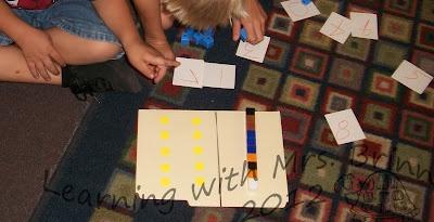Kindergarten Blog: Kagan Structure ideas for math