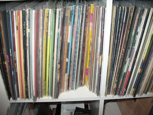 Attach Ikea Island To Floor ~ IKEA Expedit Vinyl Records Cabinet Modification Storage