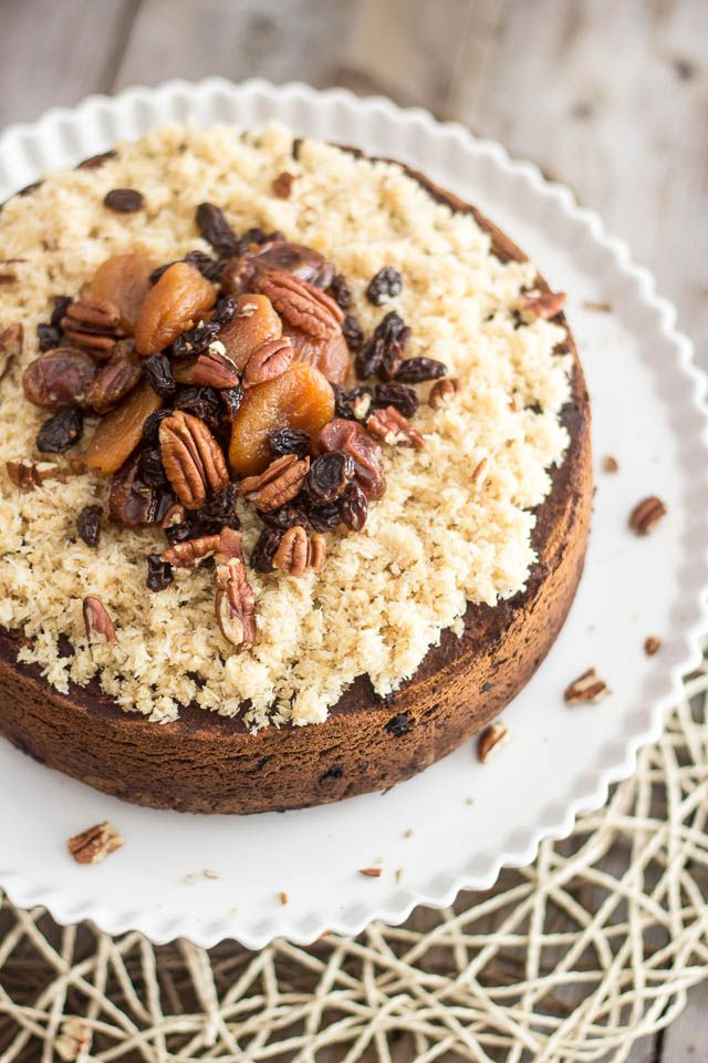 Paleo Chestnut Fruit Cake | by Sonia The Healthy Foodie