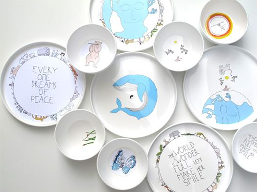 Eco-friendly dishes for kiddos